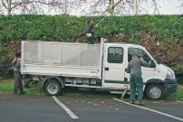 Offre de services Ramassage de feuilles et papiers , personne en situation de handicap, secteur espaces verts IRIS MESSIDOR, ESAT